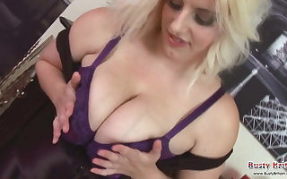 Raphaella Lily Big Boobs and Pussy Play