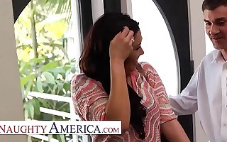 Naughty America London Keyes visits her sugardaddy be beneficial to his pleasure