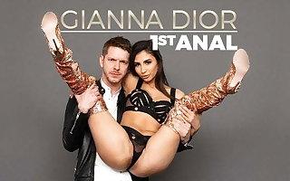 EvilAngel - Gianna Dior Loses Her Anal Virginity