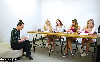 WebYoung Lesbian Focus Group Turns Into A Foursome