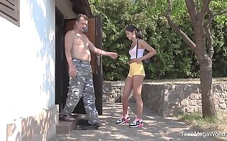 Old-n-Young.com - Lady Dee - Sun, garden, hard sex and high point