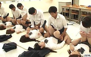 JAV synchronized schoolgirl missionary sexual congress led by teacher