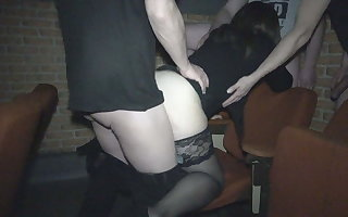 Adult Theater escapades be expeditious for a hot slutwife