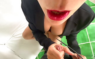Business woman used in a ease villa – business woman
