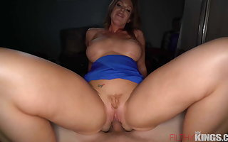 Busty Milf Needs The Love of a Younger Stud To Help Her