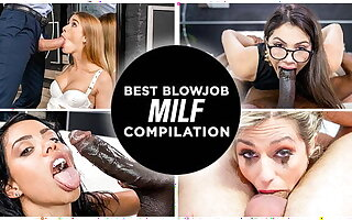 LETSDOEIT - Crazy Hot Weary Blowjob MILF Compilation 2021!