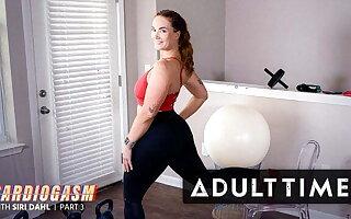 Hottie Siri Dahl Pleasures Herself After A Sexy Isometrics