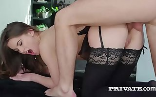Evelina Darling, addicted to underclothing and and anal sex