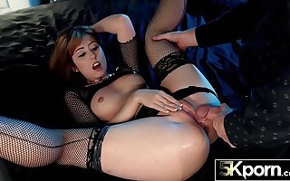 5KPorn - Perfect Redhead Daphne Dare Equal to You've Never Seen