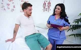 BBW Medical Muffs Angelina Castro & Karen Fisher Tract Cock!