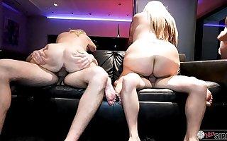 Vegas Penthouse Orgy w/ Kendra Kox n Dee Siren