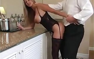 Blonde MILF Wearing Unmentionables Wants His Dick HotWifeRio.com