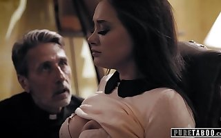 PURE TABOO Priest Takes In conformity Of A Desperate Bride-To-Be