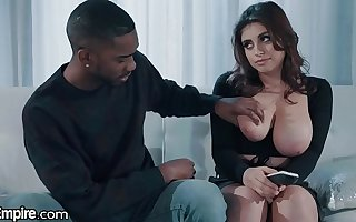 XEmpire Ella Knox Titty Fucked By Stepbrother