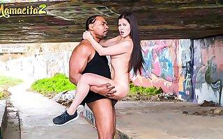 MAMACITAZ - Delicious Russian Babe Cassie Ardour Has Hot Wild Sex Outdoor