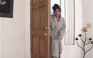 Indian Maid Back Big Tits Gets Naked