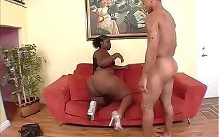 Scene 4 From Astonishing Black Fattyz - Thick Sexxi and Jay Strokes