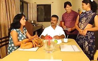 Indian Maid Enjoying beside her Lover