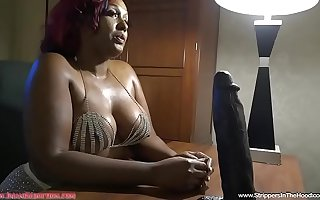 www.StrippersInTheHoodXXX.com finally gets a BBC stripper for Imani Seduction