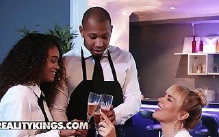 Moms Bang Teens - (Dana DeArmond, Scarlit Scandal) - Table For Three - Reality Kings