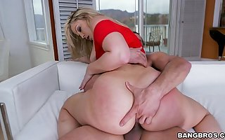PAWG Alexis Texas Claps Back with The brush Broad in the beam Ass on BangBros (ap14883)