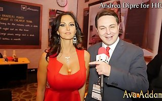 Ava Addams plays with her tits for Andrea Diprè